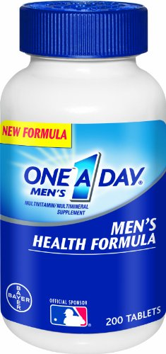 One A Day Men's Health Formula Multivitamin is formulated to support:* heart health, healthy blood pressure,** immune health, healthy muscle function, and physical energy* by helping convert food to fuel. One A Day Men's Health Formula Multivitamins are free of gluten, wheat, dairy, artificial colors, and artificial bestdfil3sl.gas: